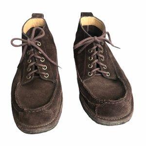 L.L. Bean Brown Suede Chukka Boots